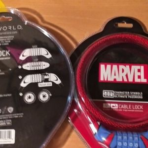Marvel cable character cable locks